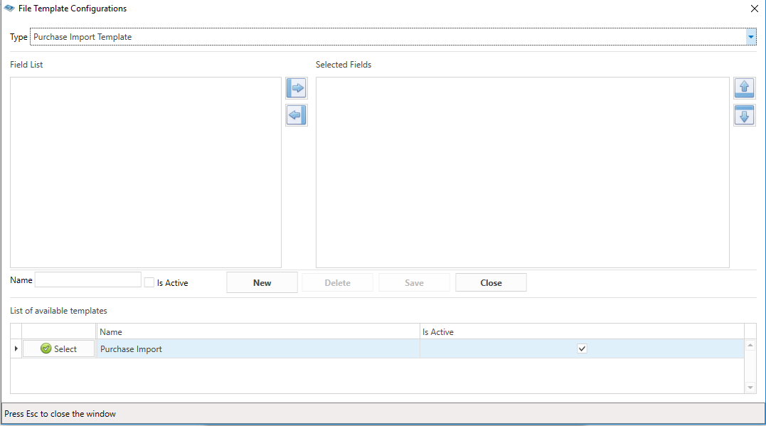 Purchase List Template from help.inventoryplus.in